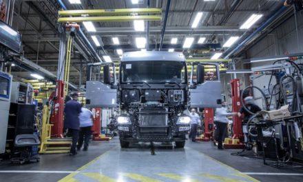 Produção de caminhões registra o melhor quadrimestre desde 2014