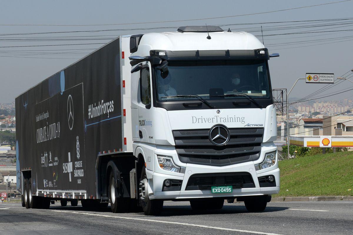Mercedes-Benz Actro Unidade móvel de tomografia