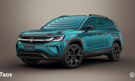 Volkswagen começa a desvendar o Taos