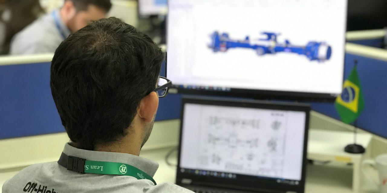 Em 35 anos, ZF produziu mais de meio milhão de eixos no Brasil