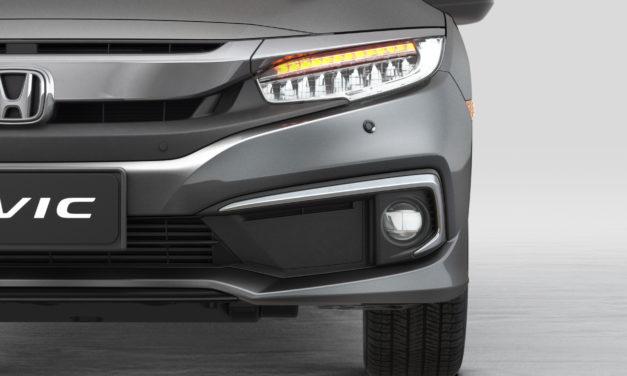 Honda melhora nível de conteúdo na linha 2021 do Civic