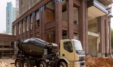 Volvo promove mais produtividade para canteiros de obra