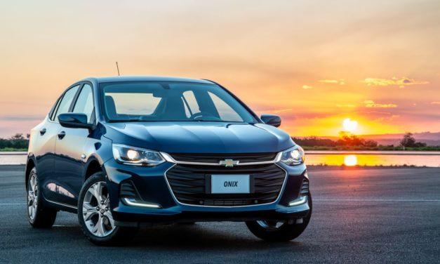 Chevrolet Onix Plus: o mais valorizado do mercado no ano.
