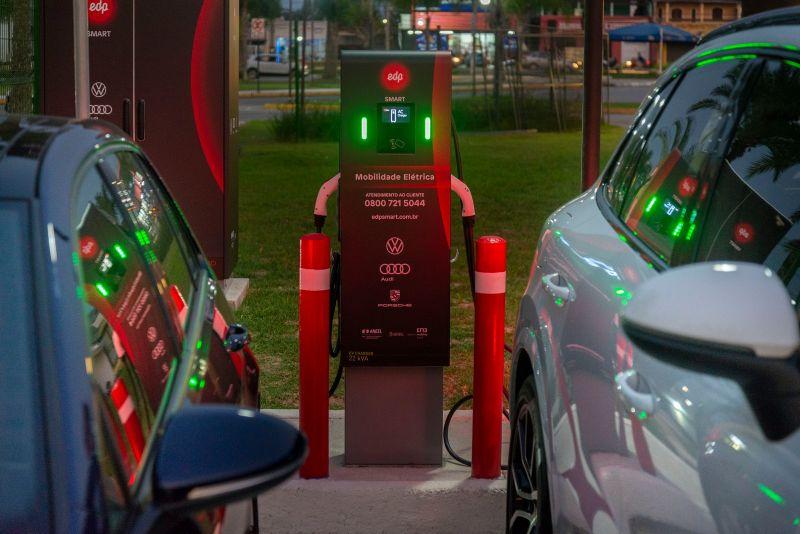 Recarga ultrarrápida nos eletropostos da VW, Audi, Porsche e EDP