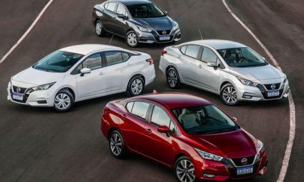 Novo Nissan Versa custa a partir de R$ 72.990