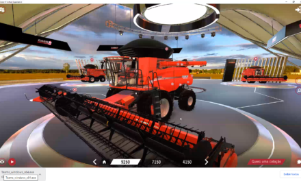 Showroom virtual da Case coloca produtor rural dentro das máquinas
