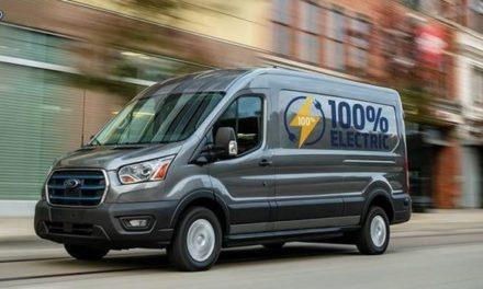 Ford mostra a E-Transit na Europa