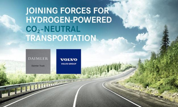 Daimler e Volvo: testes com caminhões a célula de combustível em 3 anos.
