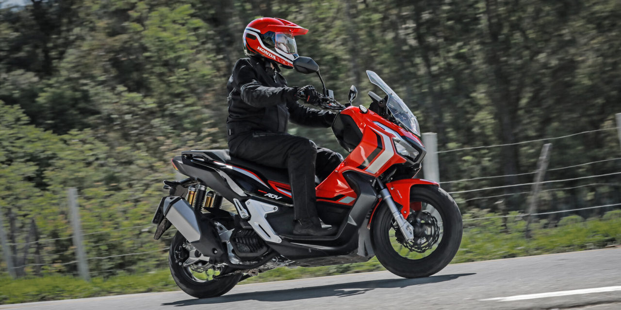 ADV, um scooter Honda nada convencional