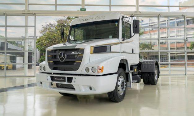 Mercedes-Benz Atron diz adeus em versão especial