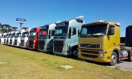 Volvo registra recorde de vendas de caminhões seminovos