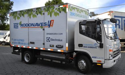 RTE Rodonoves coloca em teste caminhão elétrico da JAC