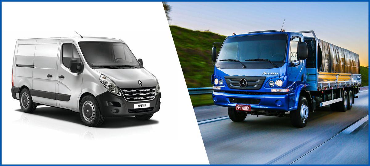 Mercedes-Benz e Renault têm os veículos comerciais menos depreciados
