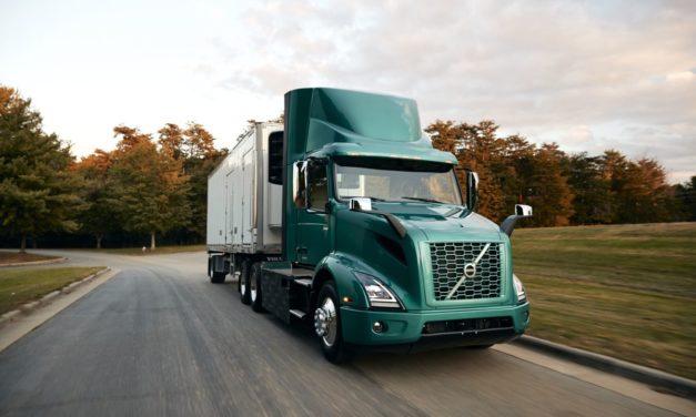 Volvo inicia venda de caminhão elétrico na América do Norte