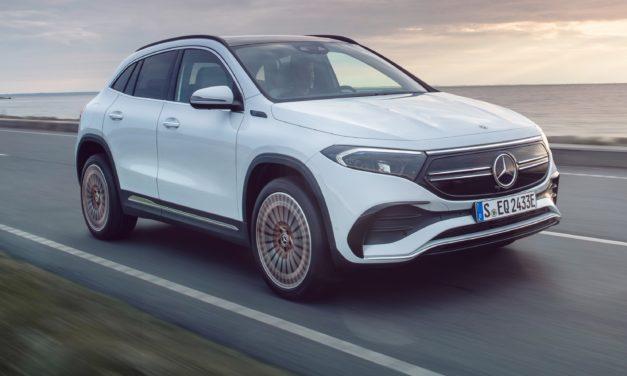 EQA é o SUV elétrico de entrada da Mercedes-Benz