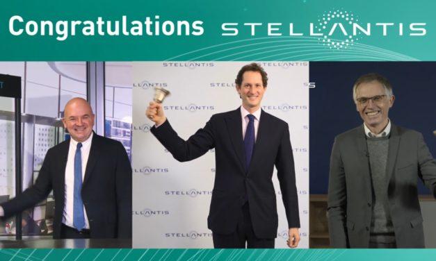 Concluída a fusão FCA e PSA, ações da Stellantis chegam às bolsas