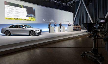Daimler apura queda de 11% no faturamento de 2020