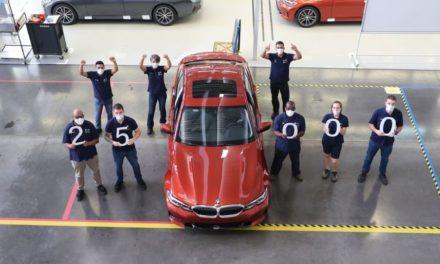 BMW atinge marco de 25 mil Série 3 produzidos em Araquari