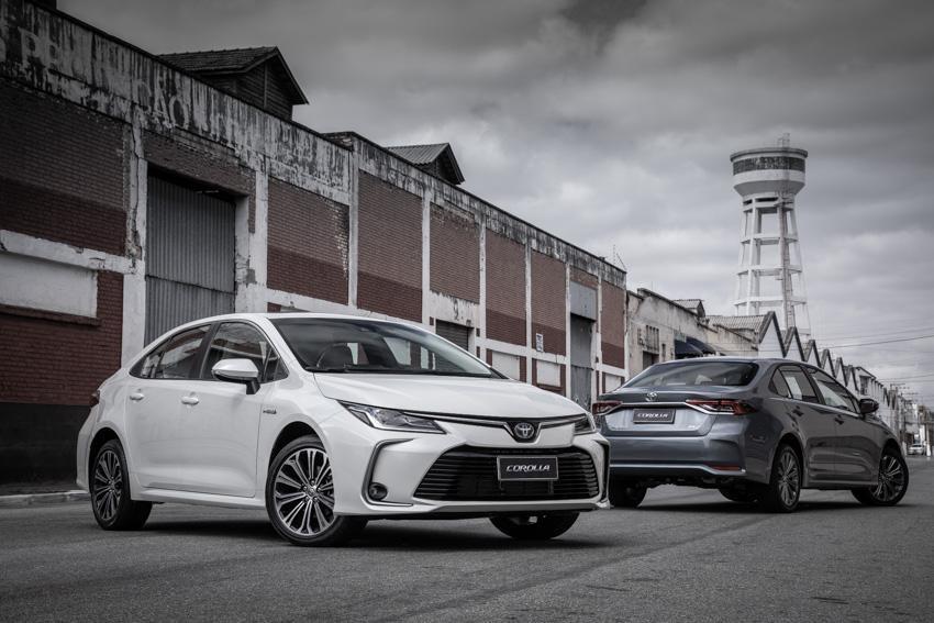 Linha 2022 do Corolla chega na rede Toyota em fevereiro