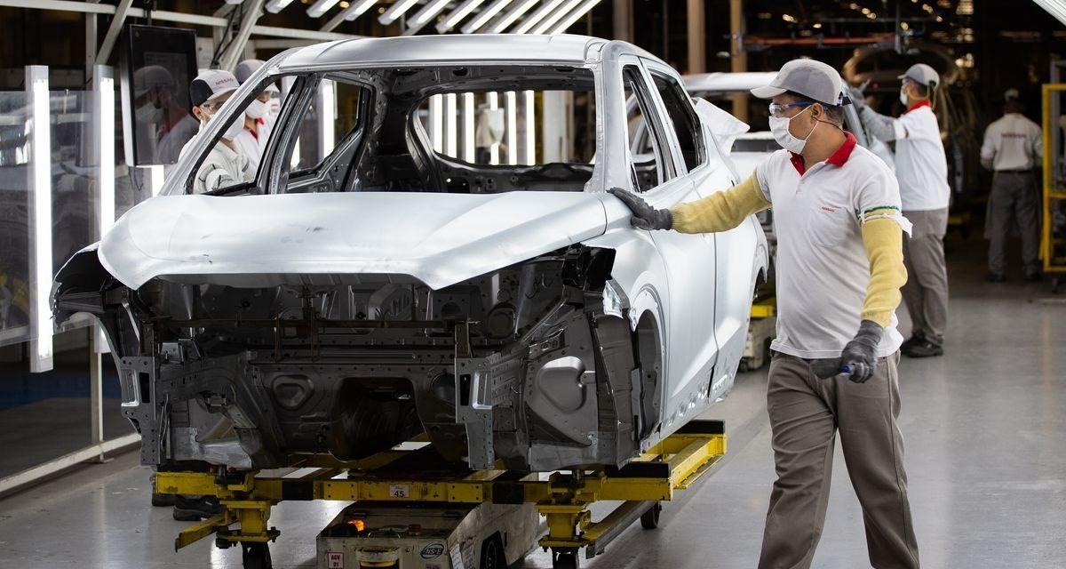Nissan inicia produção do novo Kicks em Resende