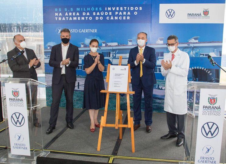 Volkswagen investe em Centro de Hematologia no Paraná
