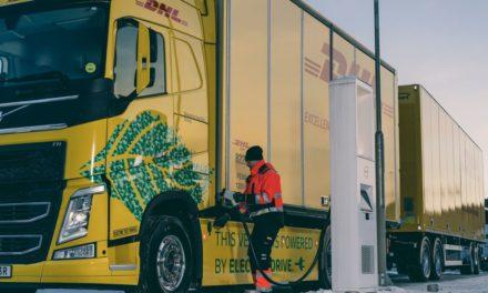 Volvo e DHL iniciam teste com caminhões pesados elétricos