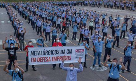 Metalúrgicos aprovam layoff na GM de São José dos Campos
