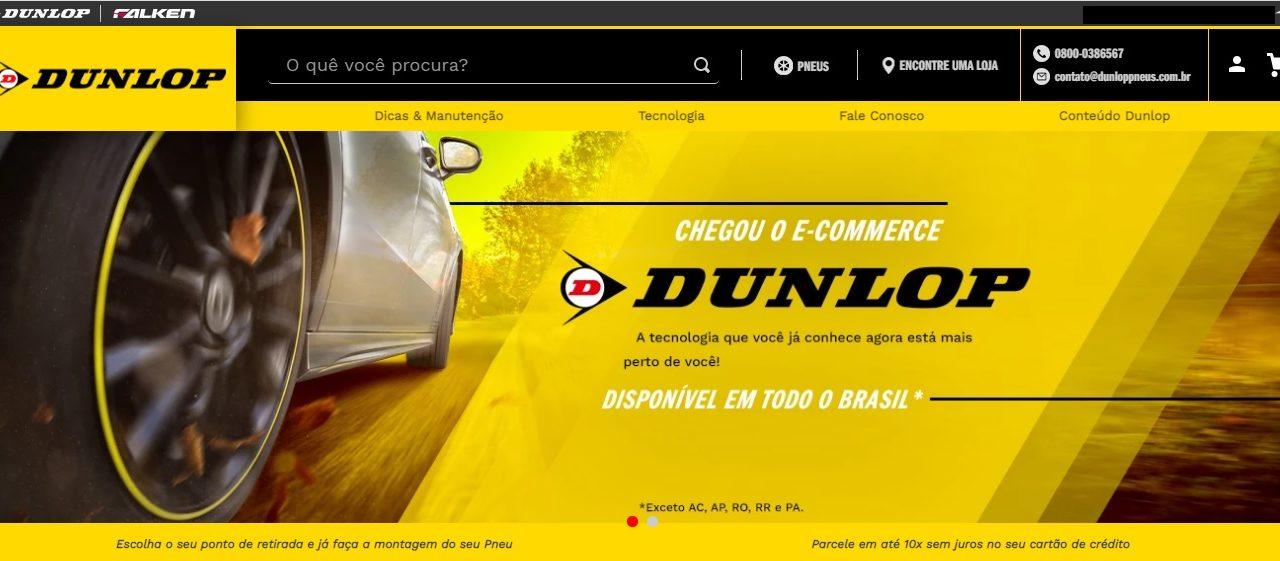 Dunlop lança e-commerce no Brasil