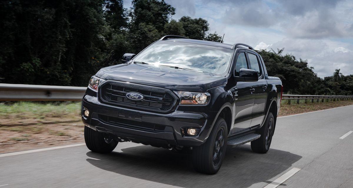 Ford amplia a linha Ranger com a versão Black
