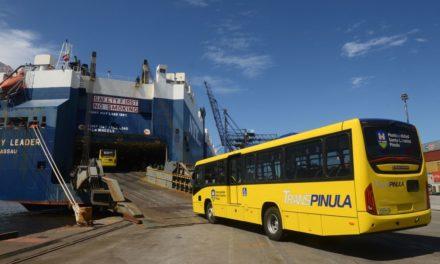 Volvo e Marcopolo fornecem ônibus para novo corredor na Guatemala