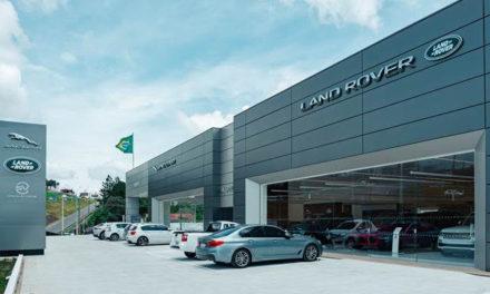 Jaguar Land Rover expande rede com mais três concessionárias