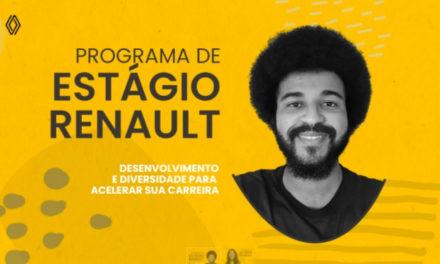 Renault abre processo de estágio com foco na diversidade