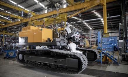 Volvo CE registra crescimento de 18% nas entregas de máquinas
