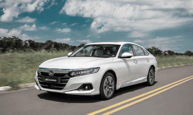 Novo Honda Accord híbrido chega no início do segundo semestre