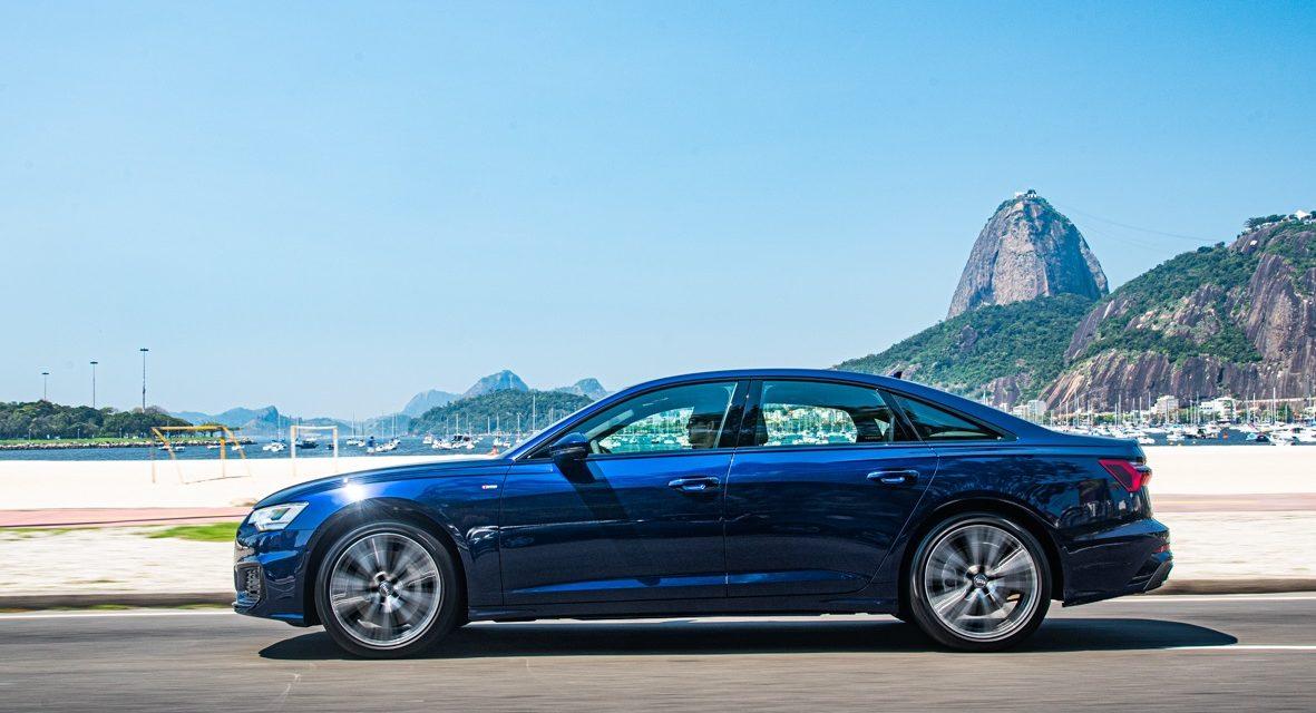 Agora no Brasil, versão Prestígio Plus do Audi A6