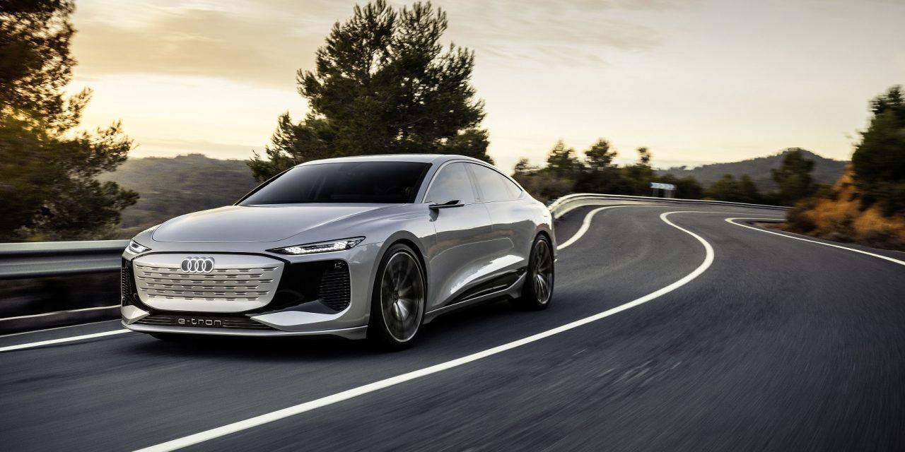 Audi mostra conceito A6 e-tron com autonomia de até 700 km