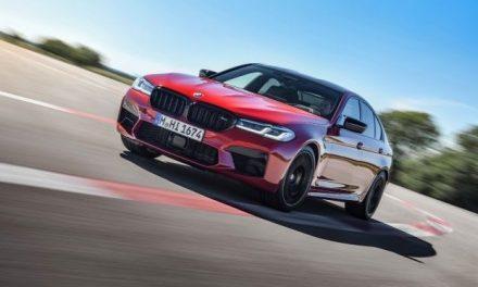 M5 Competition chega na rede BMW por R$ 1 milhão