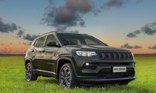 Jeep abre pré-vendas das versões flex do novo Compass