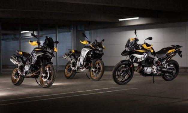 BMW lança edições especiais da linha de motos GS