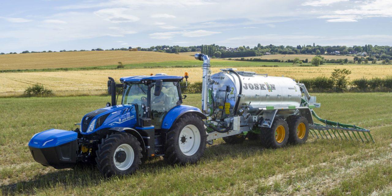 New Holland promete trator a metano ainda para este ano