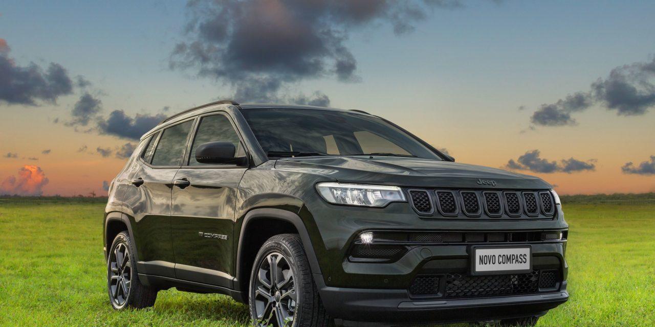 Jeep inicia pré-venda do Compass 2022 e lança plataforma digital