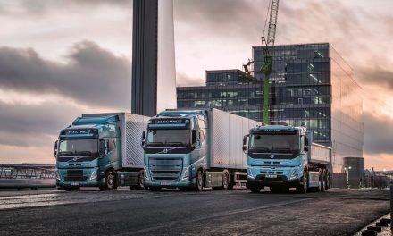 Volvo: caminhões elétricos atendem 45% do transporte na Europa.
