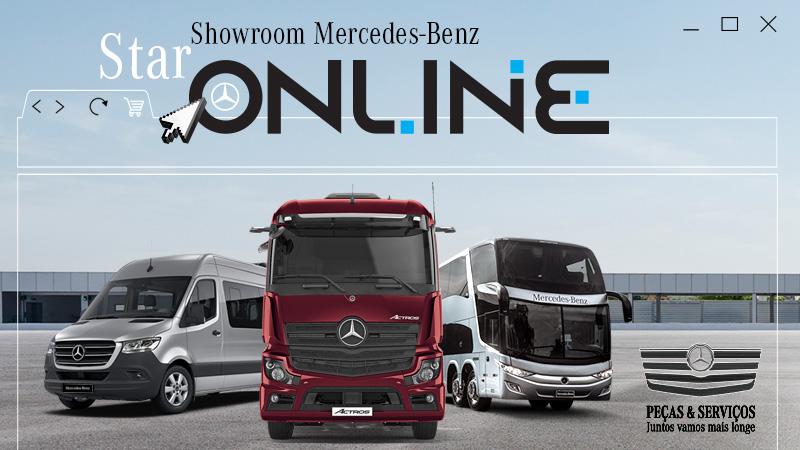 Showroom virtual Mercedes-Benz completa 1 ano com 1,3 milhão de visitas