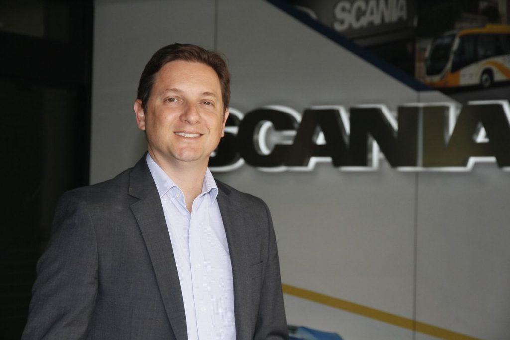 Scania - Alex Nucci - diretor de vendas caminhôes