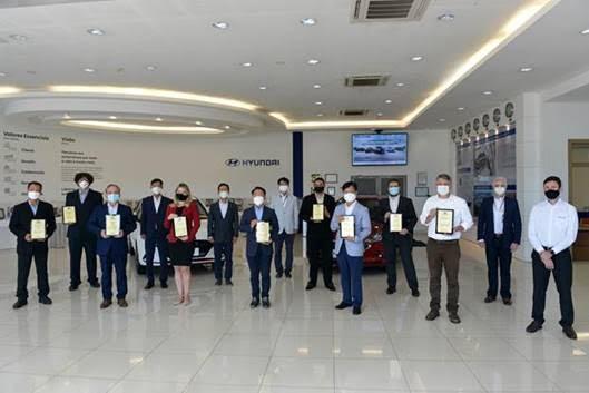 Hyundai reconhece melhores fornecedores em sete categorias