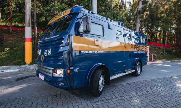 Grupo Protege inova com projeto de carro-forte 100% elétrico