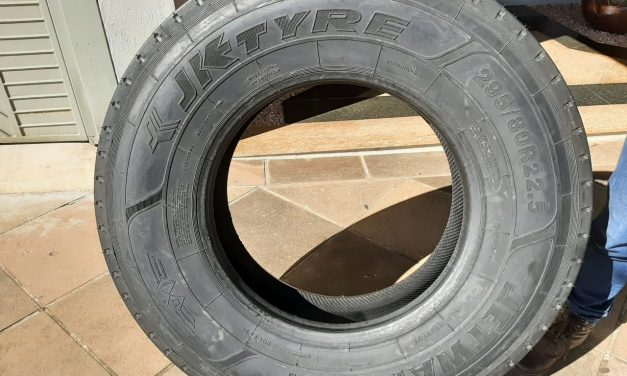 Rodofort importa pneus da Índia para garantir entregas no País