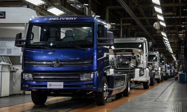 VWCO inicia produção em série do e-Delivery