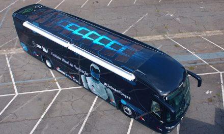 Mercedes-Benz contribui com ônibus para Cruz Vermelha Brasileira