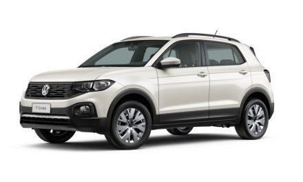 VW inicia venda do T-Cross Sense no varejo